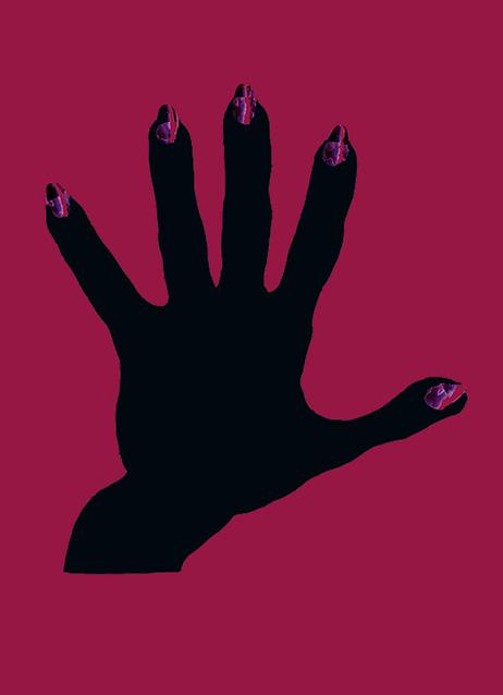 """""""Los miedos"""": Cubierta, tapa posterior: primer boceto."""