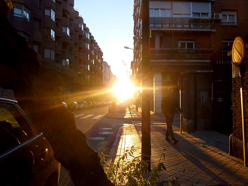 Calle del Buen Suceso, Madrid, 01/12/2013.