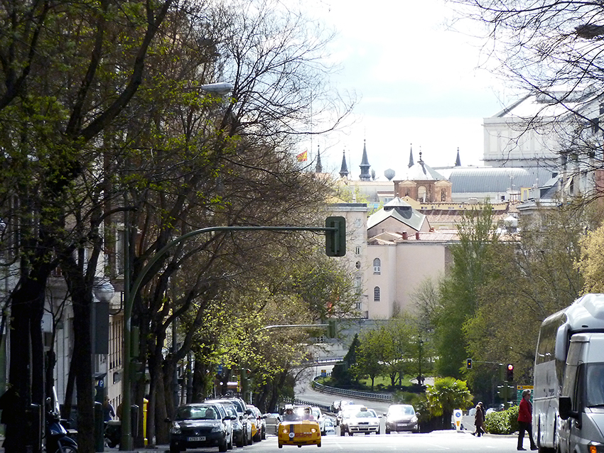 Calle de Ferraz, Madrid, 15/04/2012.